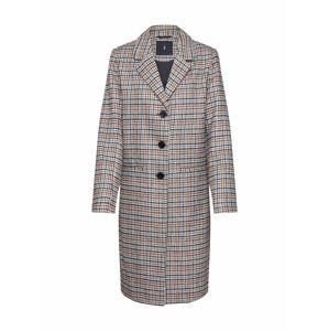SISTERS POINT Prechodný kabát 'CANA-JA'  béžová / hnedé / čierna