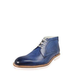MELVIN & HAMILTON Šnurovacie topánky 'Felix 1'  modré / námornícka modrá