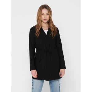 ONLY Prechodný kabát 'SILLE'  čierna