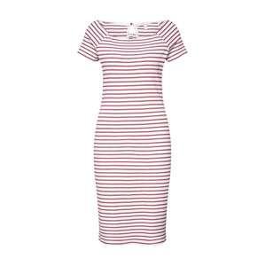 ESPRIT Letné šaty  malinová / biela