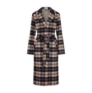 Envii Prechodný kabát 'ENARX'  béžová / hnedé / čierna