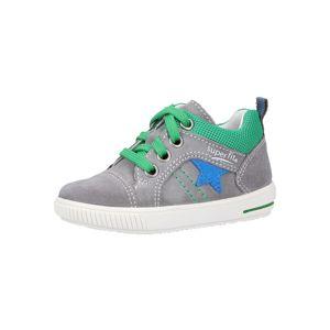 SUPERFIT Tenisky 'Moppy'  modré / sivá / zelená