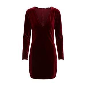 Mel Ivy Šaty  vínovo červená