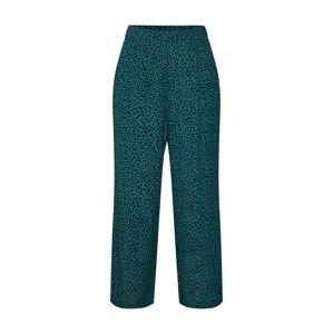 MINKPINK Nohavice  čierna / zelená