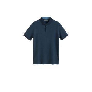 MANGO MAN Tričko 'Mojo'  námornícka modrá / modrosivá
