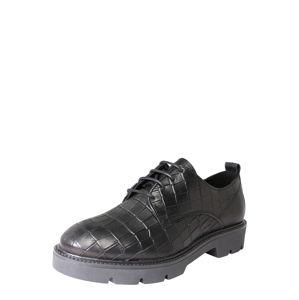 Bianco Šnurovacie topánky 'BIACALDER'  čierna