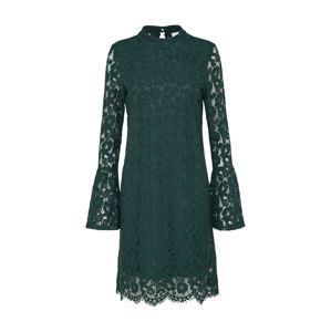 VILA Kokteilové šaty 'VICARY'  zelená