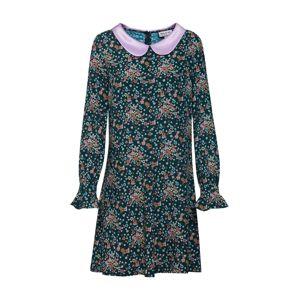 PAUL & JOE Košeľové šaty 'Louison'  zelená / ružová