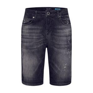 Cars Jeans Džínsy 'BARIS'  čierna denim
