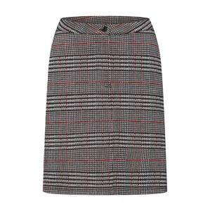 OBJECT Sukňa 'Cayenne Sweat Skirt'  sivá / červené
