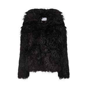 NA-KD Zimná bunda  čierna
