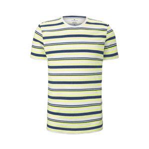 TOM TAILOR Shirt  žlté / biela / modré