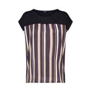 MORE & MORE Tričko  zmiešané farby / čierna