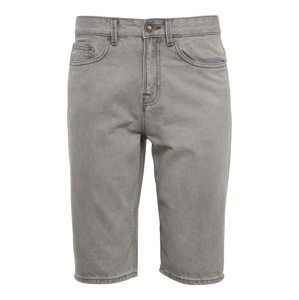 NEW LOOK Nohavice 'RP1 13.10 GREY EPP DENIM SHORT'  šedá denim