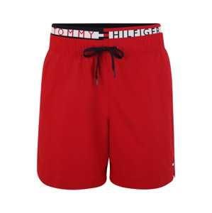 Tommy Hilfiger Underwear Plavecké šortky  červené