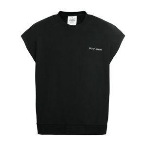 CHEAP MONDAY Mikina 'Compute sweat Security logo'  čierna
