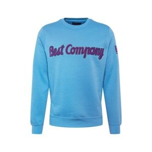 Best Company Mikina 'CREW NECK FLEECE'  modré