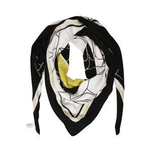 Calvin Klein Látkové rúško  žltá / čierna / biela