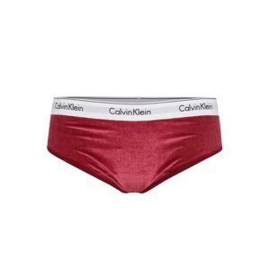 Calvin Klein Underwear Nohavičky  malinová