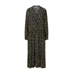 MOSS COPENHAGEN Košeľové šaty 'Calina'  tmavomodrá