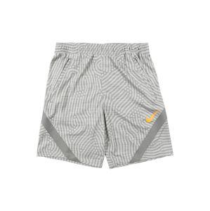 NIKE Športové nohavice 'Strike'  sivá / svetlosivá / oranžová