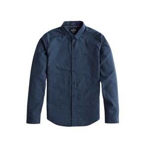 HOLLISTER Biznis košeľa 'BTS19-LS MF SOLID OXFORD 1CC'  námornícka modrá