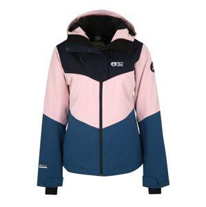 Picture Organic Clothing Športová bunda 'WEEK END'  modré / ružová / čierna