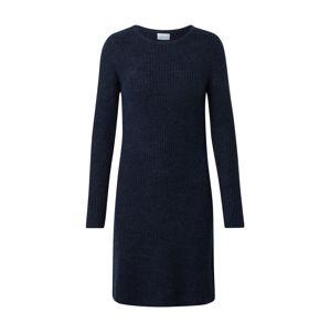 VILA Pletené šaty 'Suril'  námornícka modrá