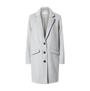 VILA Prechodný kabát  svetlosivá