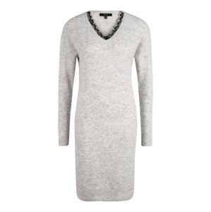 Vero Moda Tall Pletené šaty 'Iva'  svetlosivá