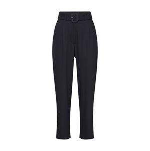 JUST FEMALE Plisované nohavice 'Ingrid'  čierna