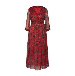 VERO MODA Šaty 'GLAMMY'  červené