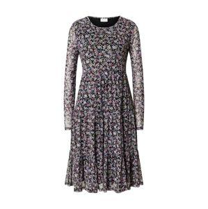 VILA Šaty 'Davis'  zmiešané farby / čierna