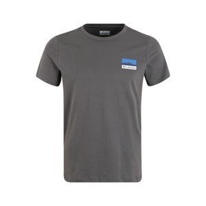 COLUMBIA Funkčné tričko  tmavosivá