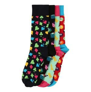Happy Socks Ponožky 'Game Night Gift Box'  zmiešané farby