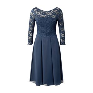 SWING Večerné šaty  indigo