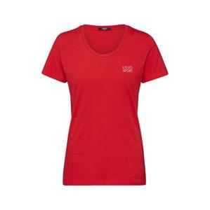 LIU JO JEANS Tričko  červené