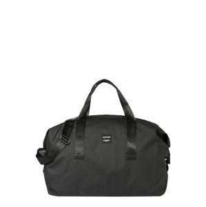 JACK & JONES Víkendová taška  čierna