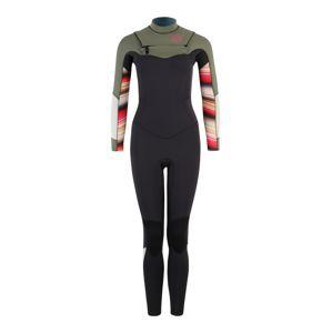 BILLABONG Športové jednodielne plavky 'salty dayz fullst 43'  tmavosivá / kaki