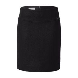 CINQUE Sukňa 'Clean'  čierna