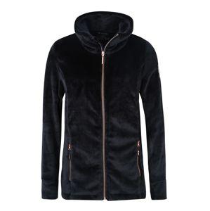 KILLTEC Funkčná flisová bunda 'Nelma'  čierna