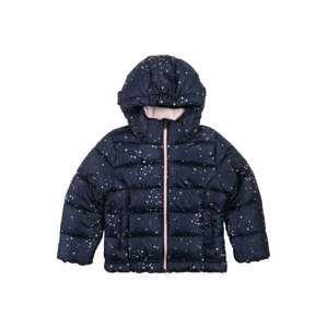 Sanetta Kidswear Zimná bunda  námornícka modrá / ružová