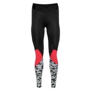 ADIDAS PERFORMANCE Športové nohavice 'Alphaskin Sport Iteration'  svetločervená / čierna / biela