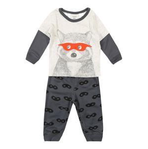 Carter's Pyžamo  sivá / biela