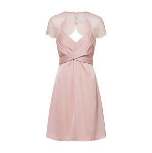 VILA Večerné šaty 'VISHEA'  rosé