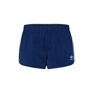 ADIDAS ORIGINALS Nohavice '3 STR SHORT'  námornícka modrá / prírodná biela