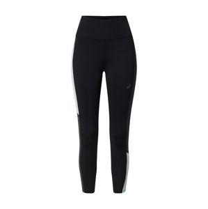 ASICS Športové nohavice 'Tokyo'  mätová / čierna