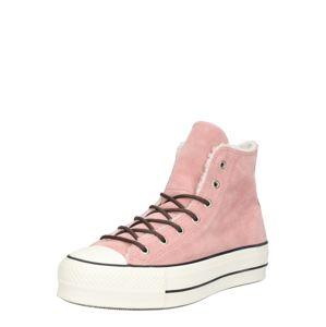 CONVERSE Sneaker  šedobiela / ružová / čierna