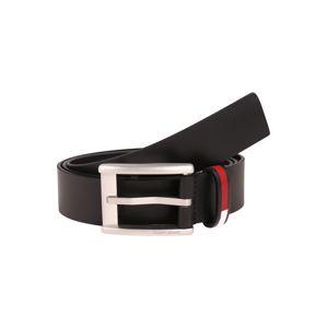 Tommy Jeans Opasky 'INLAY'  čierna / červená / modrá