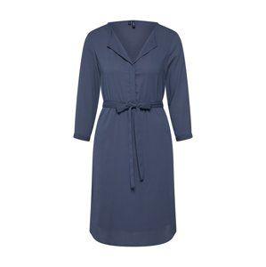 VERO MODA Košeľové šaty 'VMGRACE'  modré